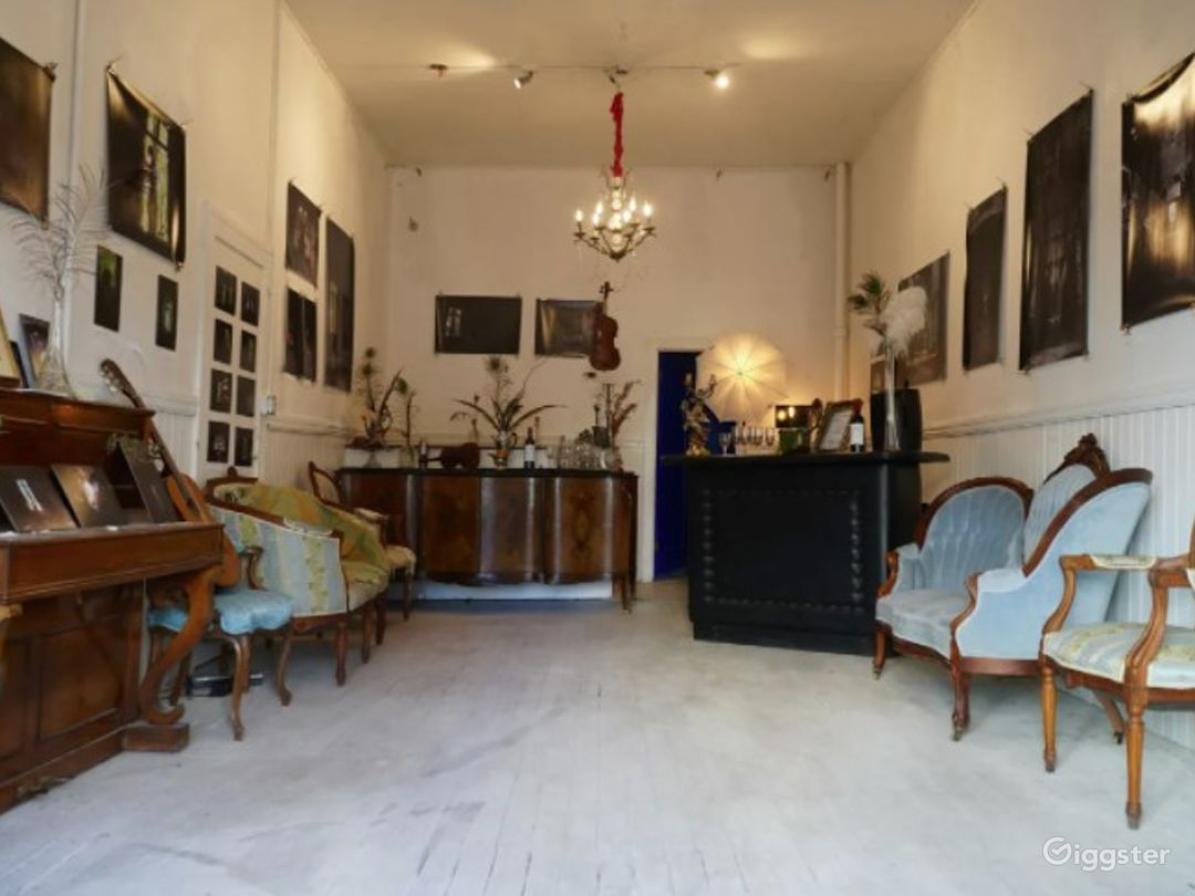Speakeasy, Art gallery with an Outdoor Garden in the Heart of North Beach - Buyout Photo 1