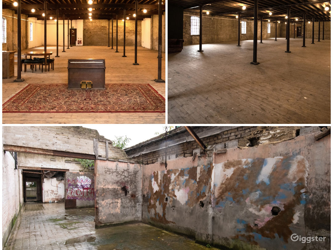 Enormous Film Location with Late-nineteenth Century Interior in London Photo 1
