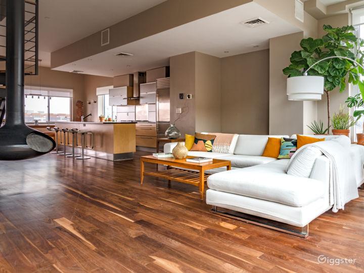 Full of light Williamsburg duplex Penthouse