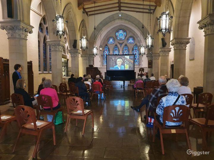 Old Historic Chapel in Boston Photo 5