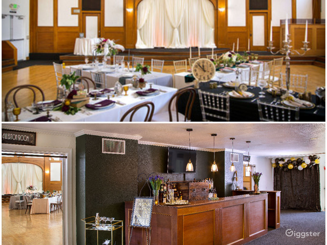 Historical Spacious Ballroom and Lobby Photo 1