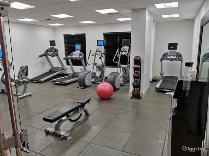 A Modern Gym with Equipment in Miami Photo 3