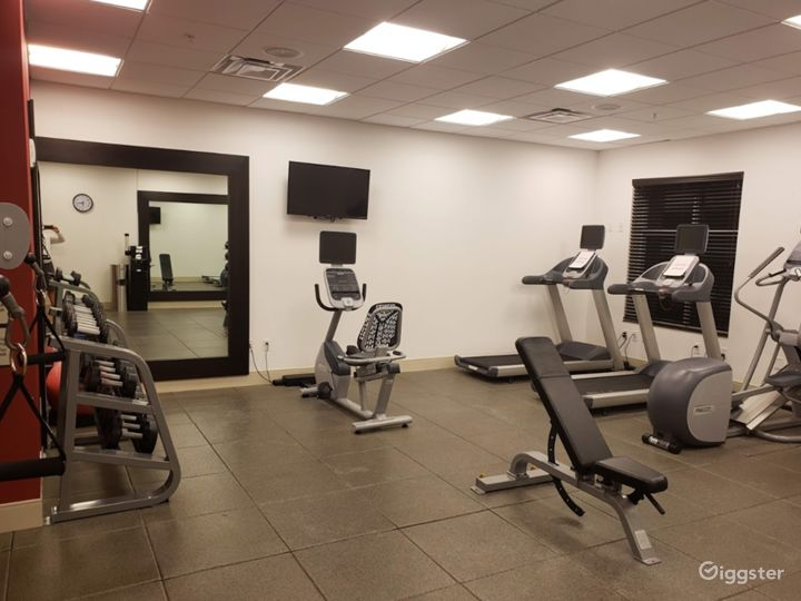 A Modern Gym with Equipment in Miami Photo 4