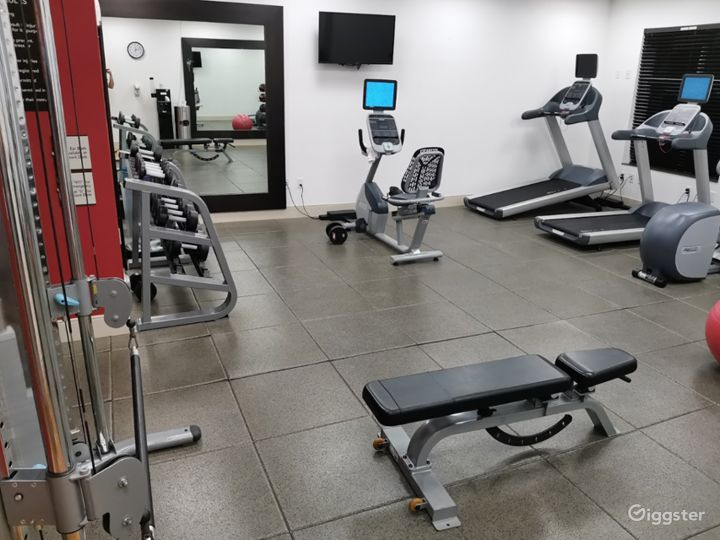 A Modern Gym with Equipment in Miami Photo 2
