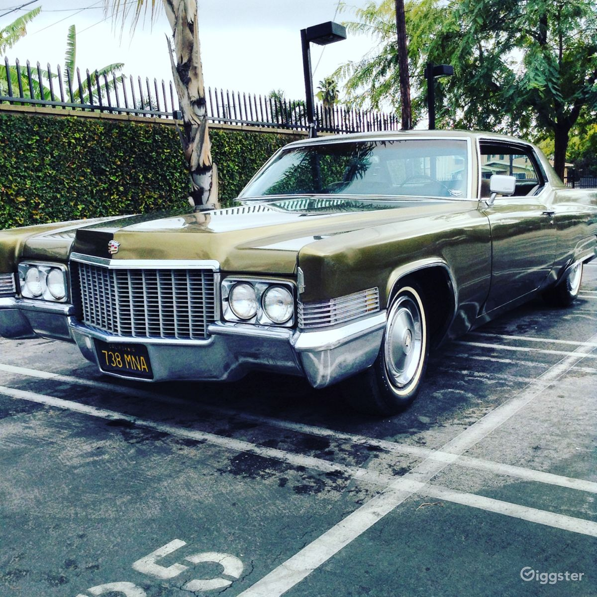 Rent 1970 Cadillac Coupe DeVille Car (transportation) for film ...