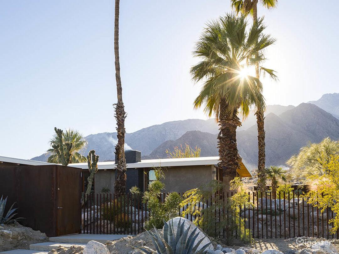 Palm Springs Mountain Modern Photo 4