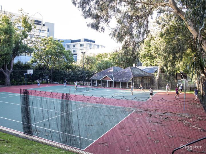 The Tennis / Netball / Basketball Court Photo 5