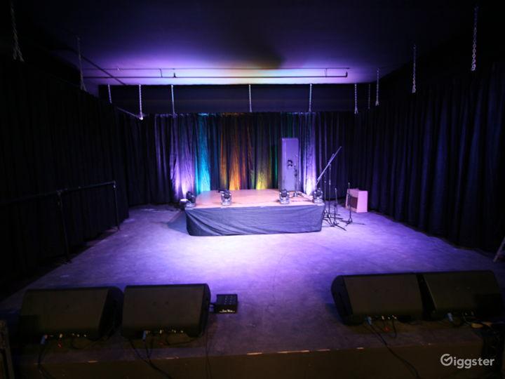 Stage (20'x19') Substation Annex Room