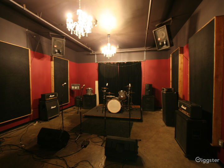 Substation Chandelier Room (Available for Hourly Rehearsal, Small Events & Karaoke)