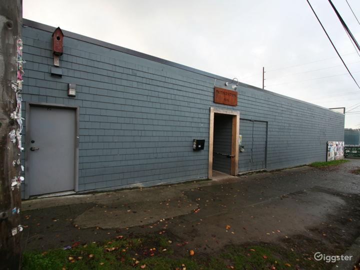 Substation Exterior (Northside)