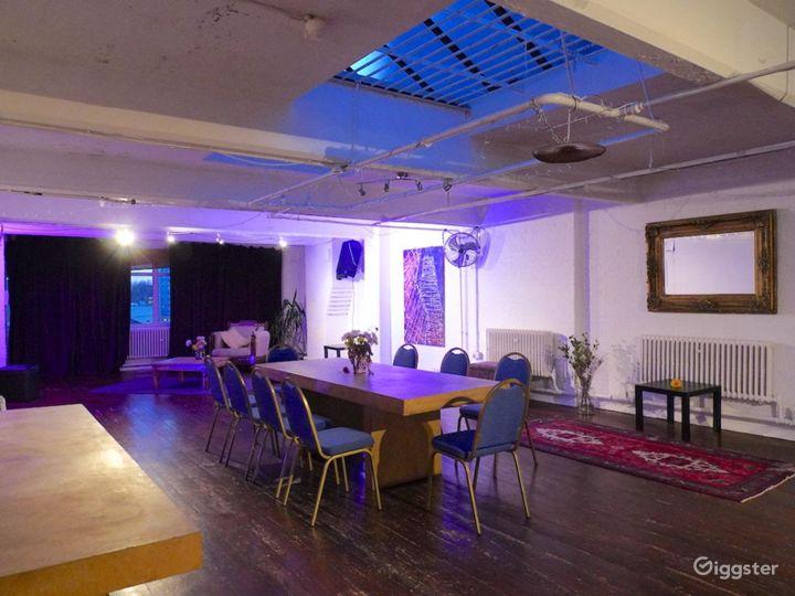 Studio with skylight in London Photo 5