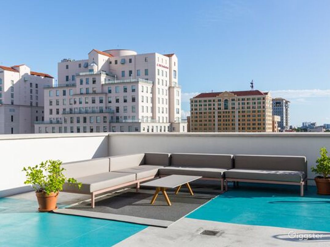 Coral Gables Rooftop Patio Photo 1