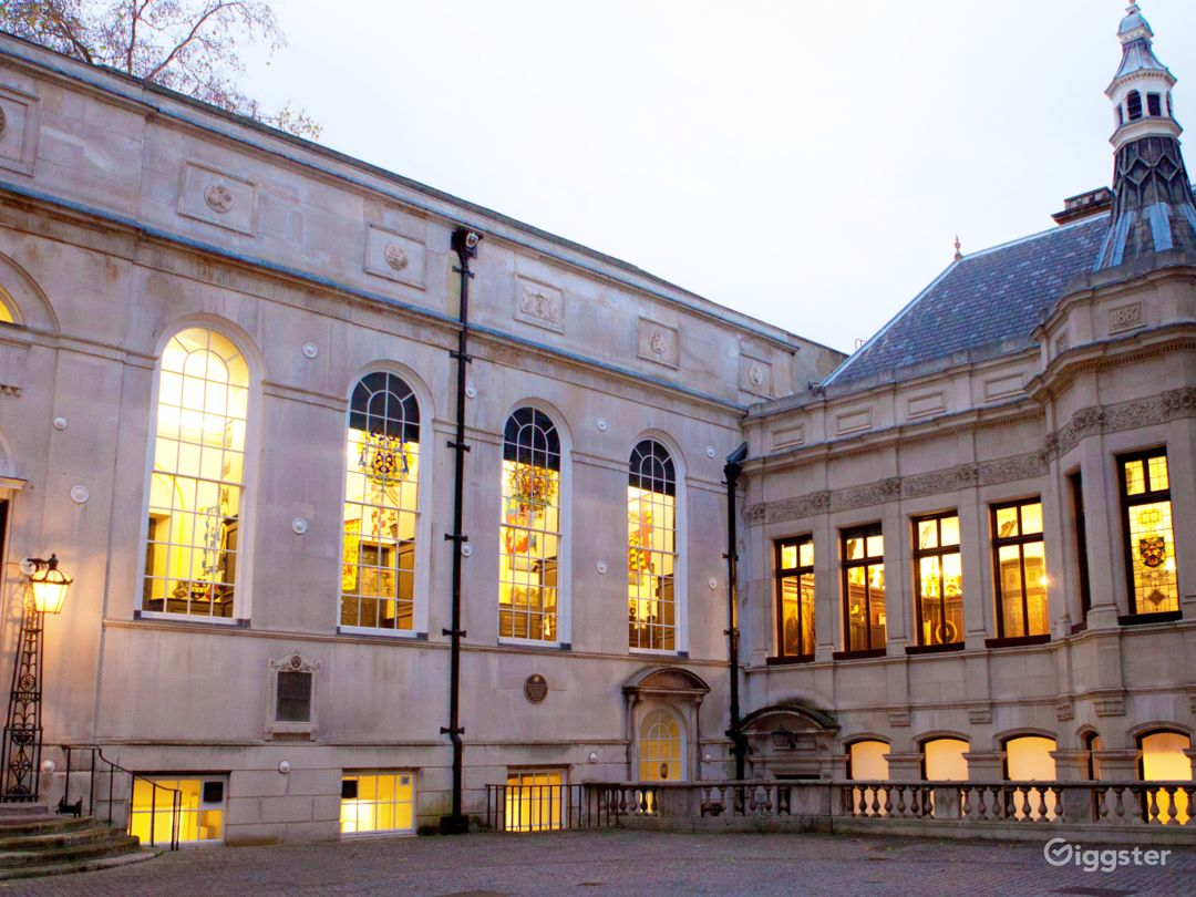 Exterior of Stationers' Hall
