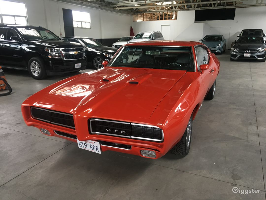 1969 Pontiac Gto Rent This Location On Giggster