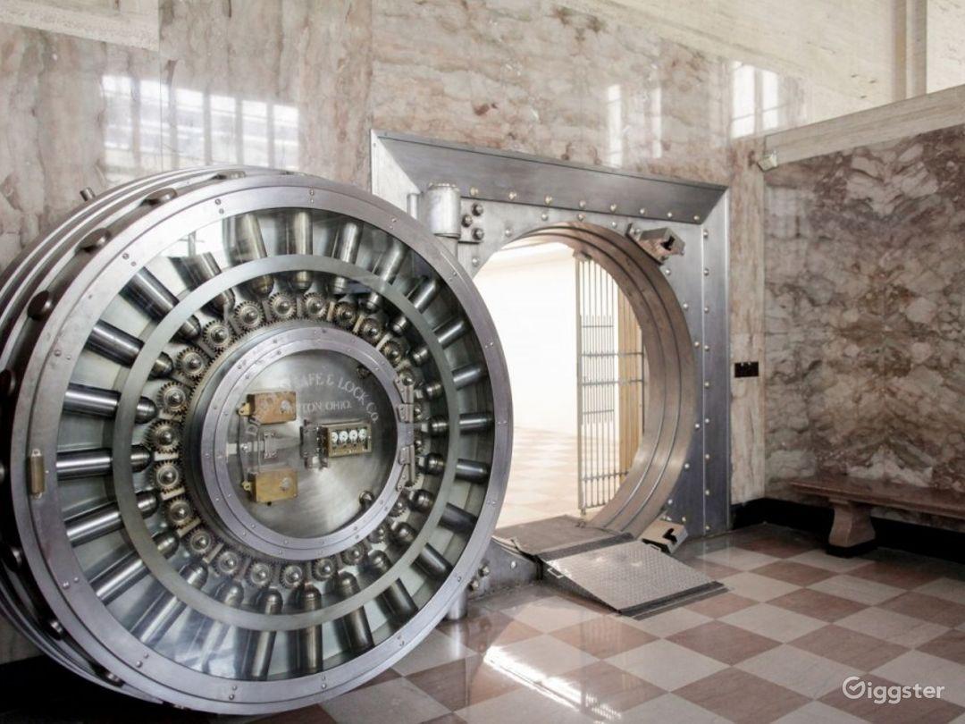 Historic North Ballroom with Foot Bank Vault Photo 1
