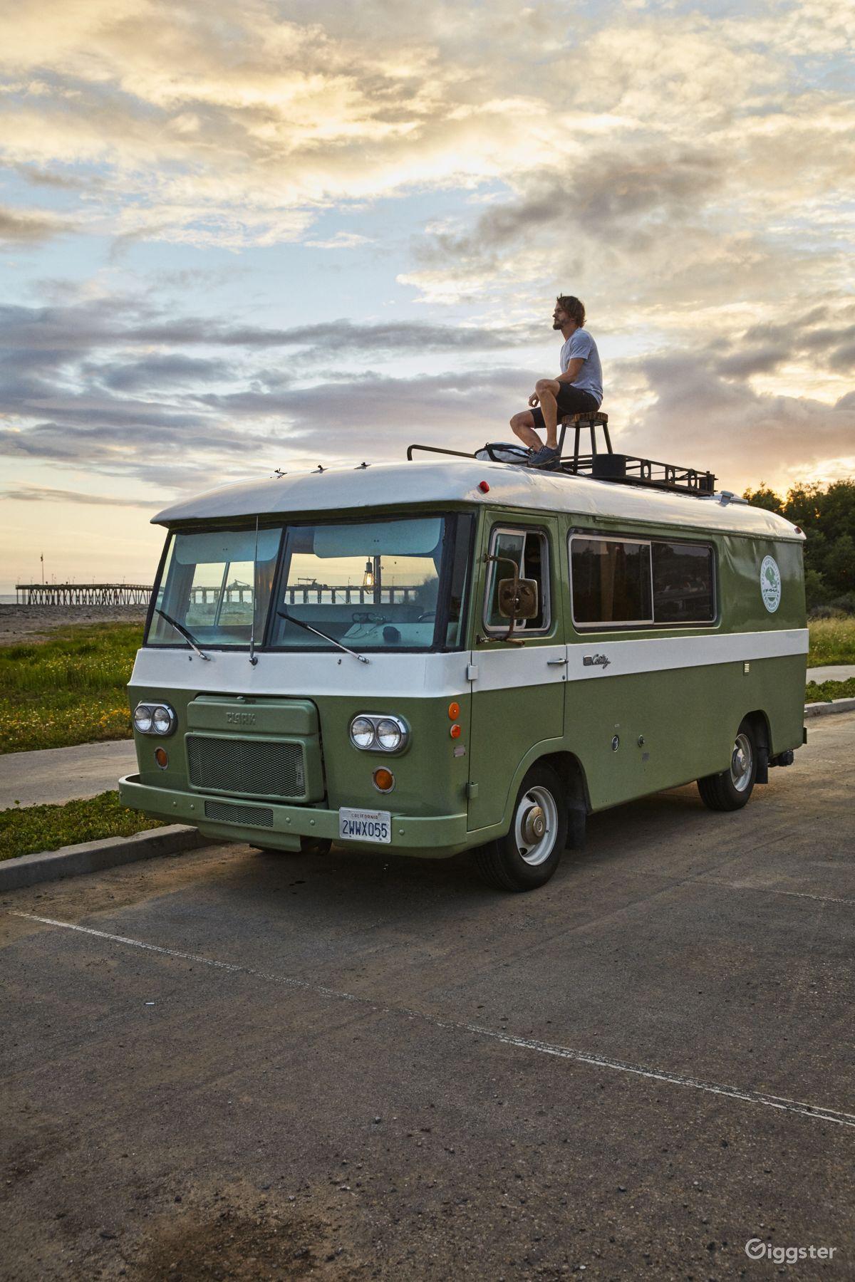 Rent The Van Bus RVtransportation Unforgettable 1966 Clark Cortez Vintage Camper