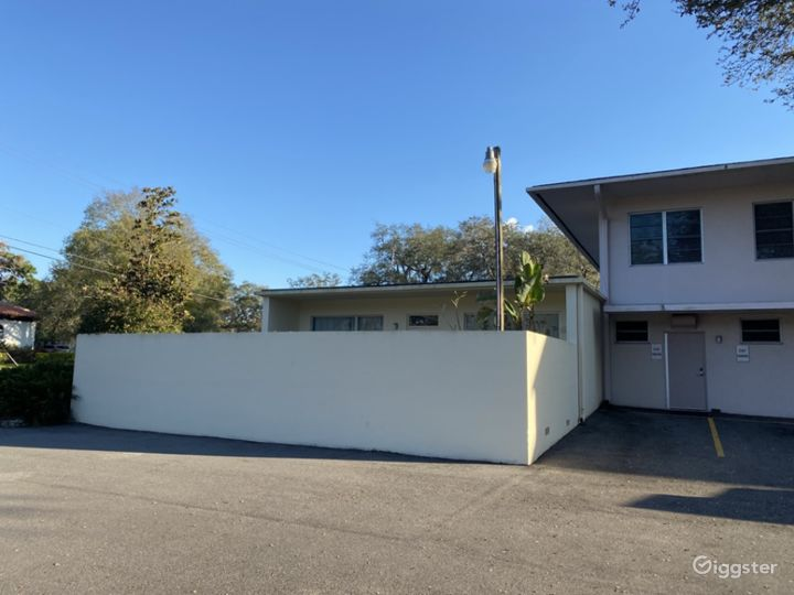 Mid century building with 8 acres of riverfront Photo 2