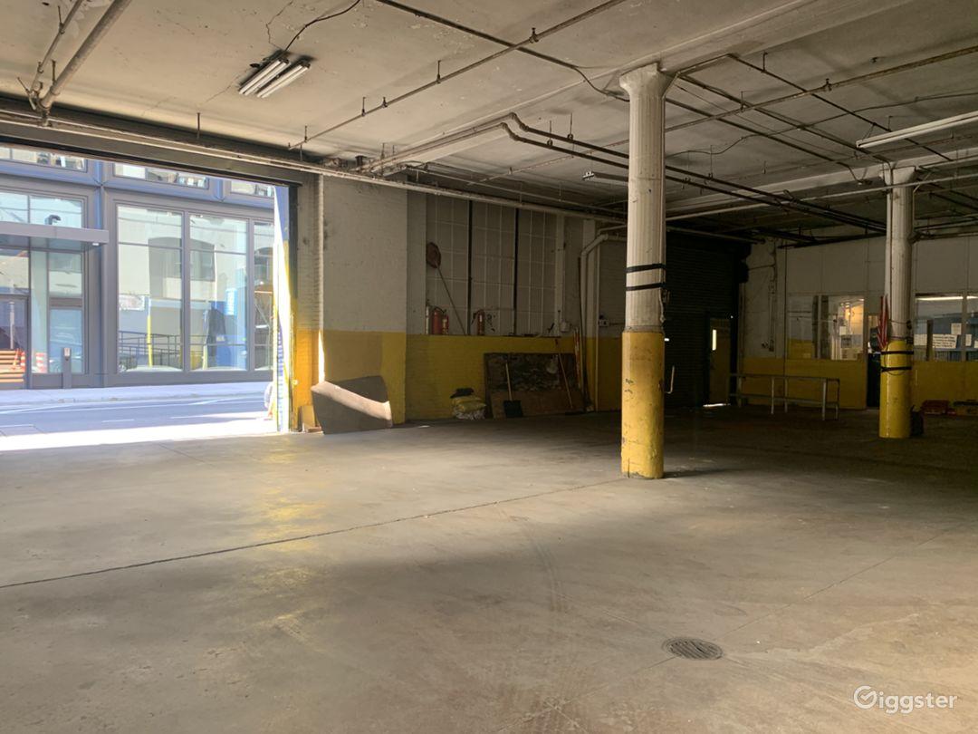 10,000 SQ FT Chelsea Warehouse Photo 1