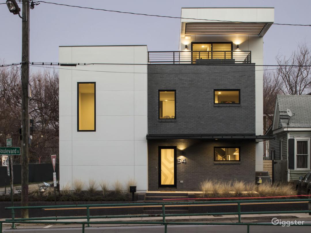Exterior View-Front Facade