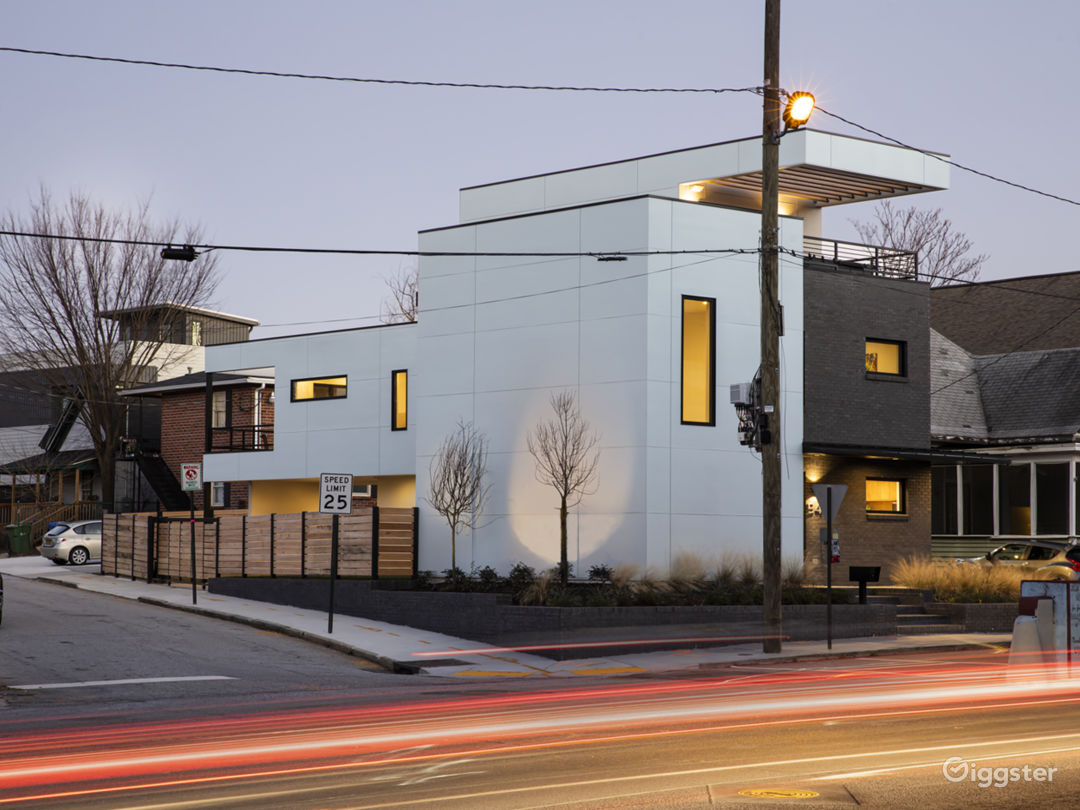 Exterior View-Corner of Boulevard and Gartrell