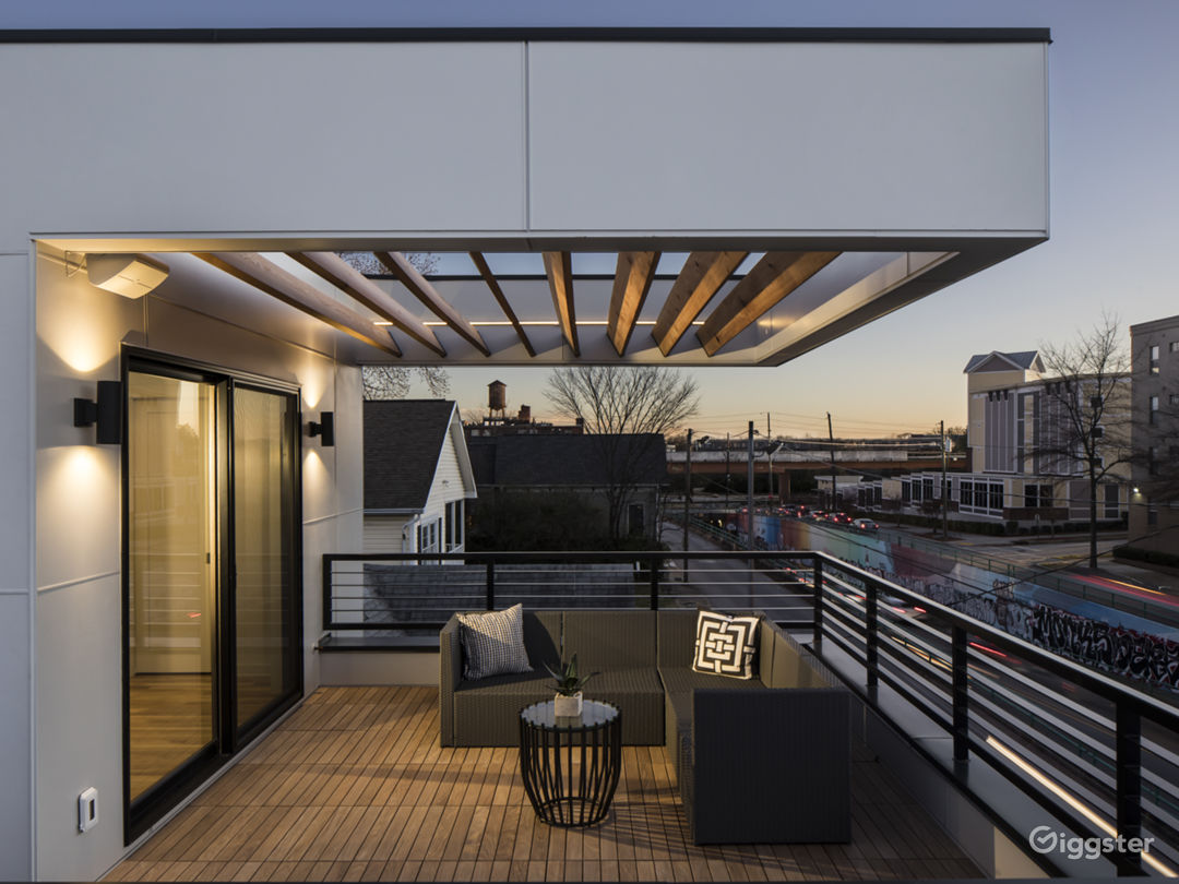 Atlanta SkyLine Views-Roof Terrace