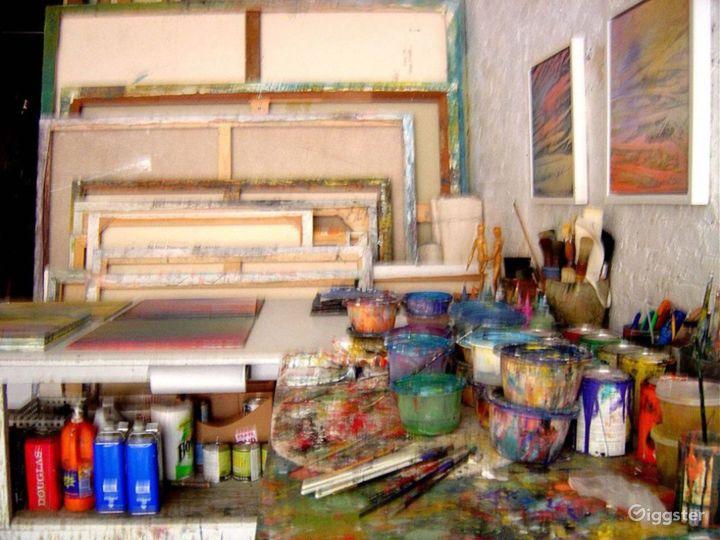 Artists loft studio: Location 4009 Photo 5