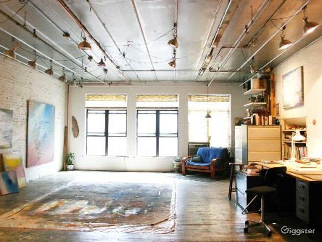 Artists loft studio: Location 4009 Photo 1