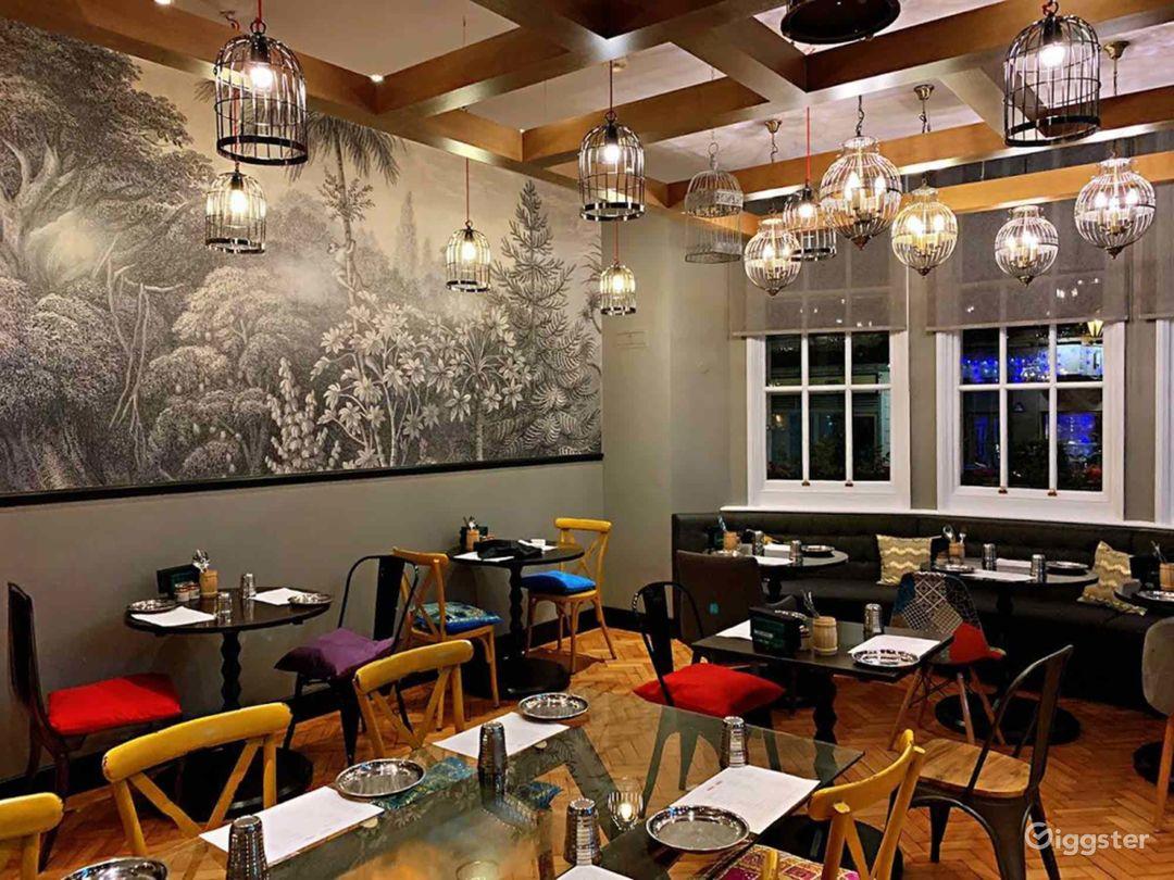 Indian Street Food Restaurant in London Photo 1