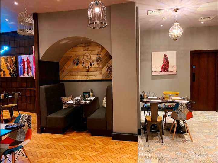 Indian Street Food Restaurant in London Photo 2