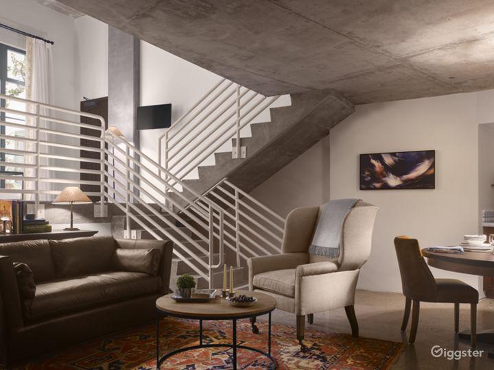 Triplex Industrial Loft Suite