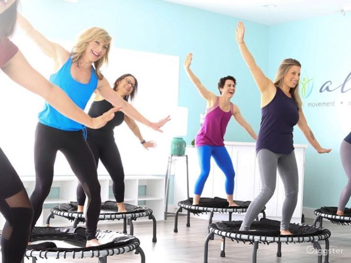 Buy Out Rental Fitness Area with a Classy Lounge and Office Space Photo 3
