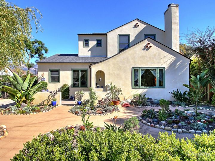 Spanish-style family home