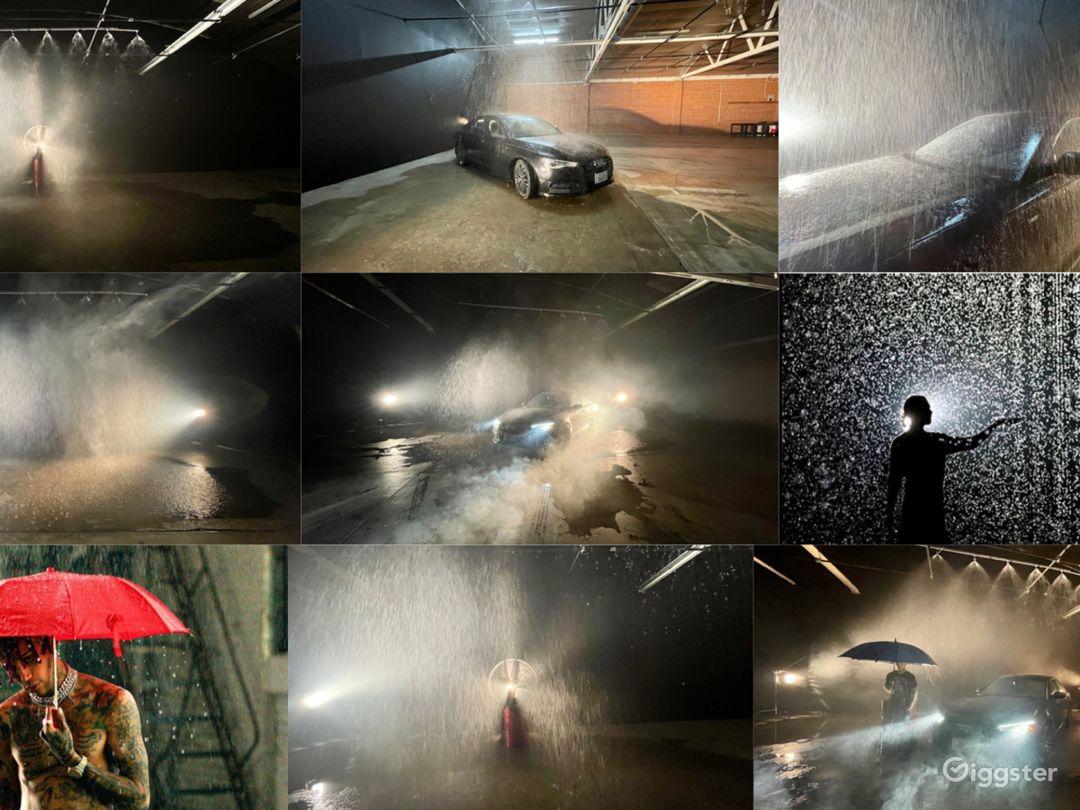 Huge Rain Room with car access Photo 1