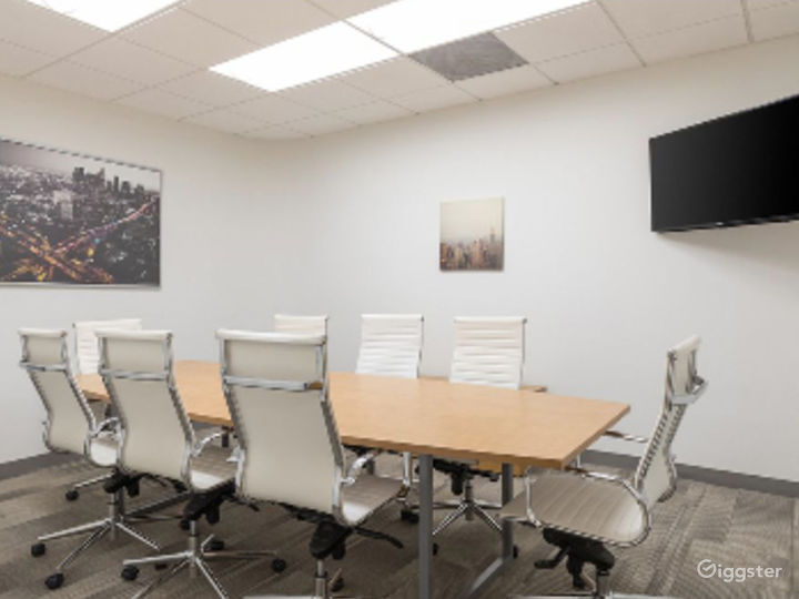 Brightly-lit Conference Room in Irvine