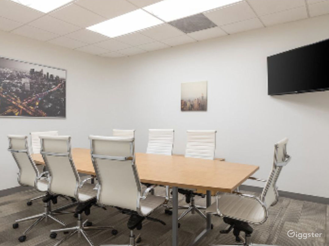 Brightly-lit Conference Room in Irvine Photo 1