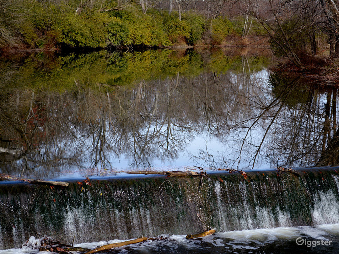 The only dam along the entire 84-mile long Darby Creek