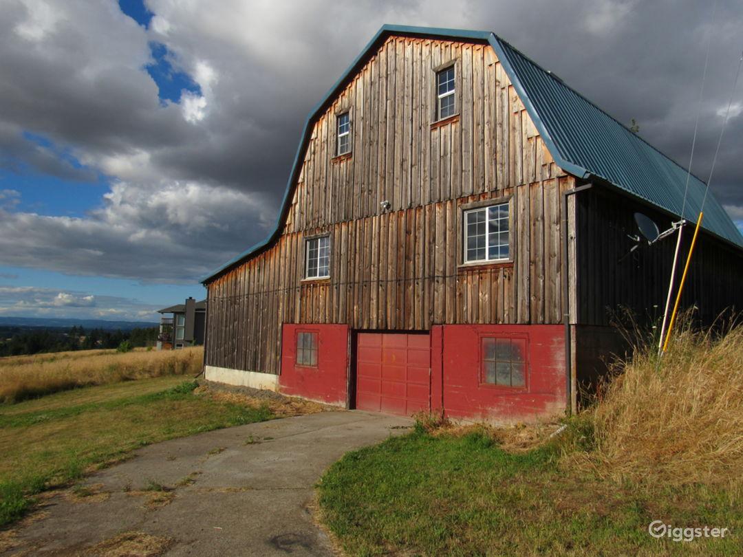 Barn (exterior rear)