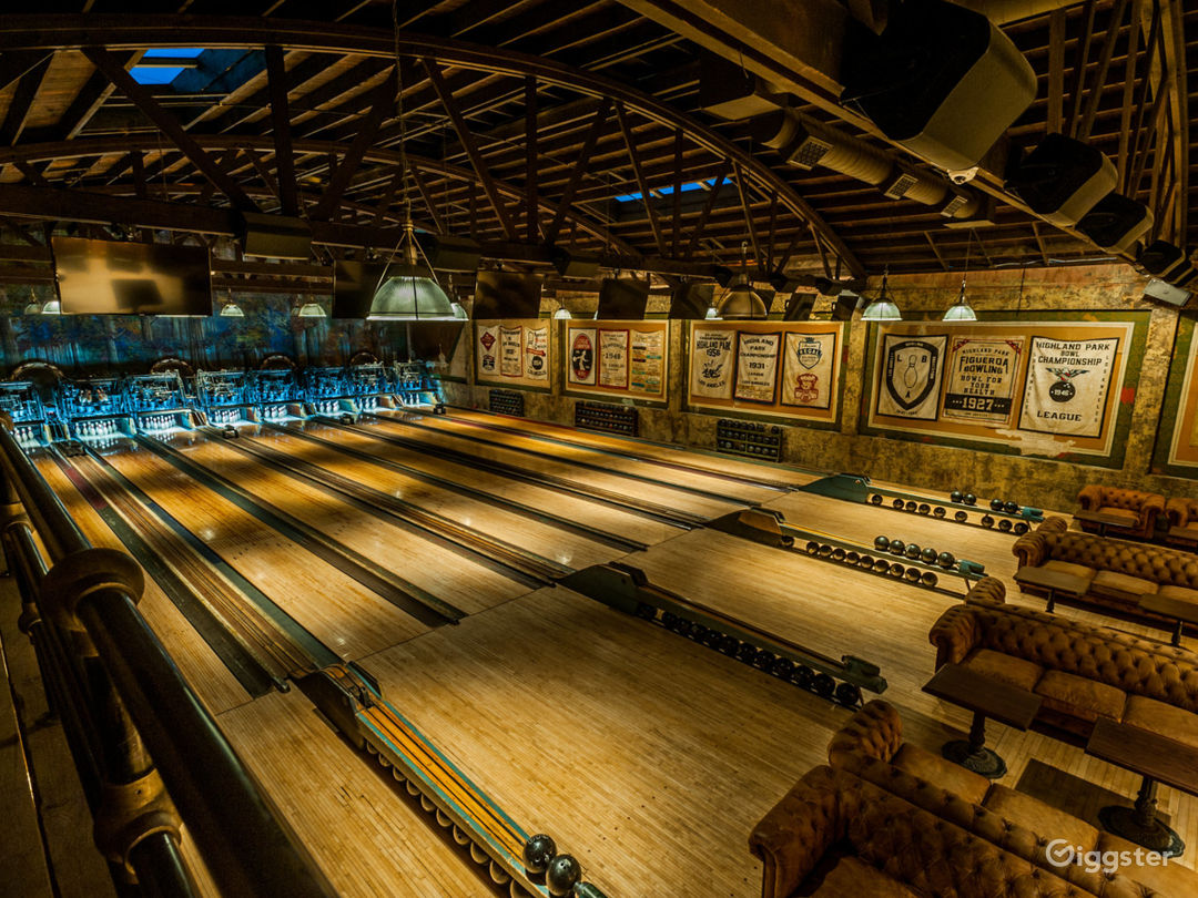 Historic Bowling Alley Photo 1