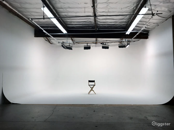 Production Studio with 32' - 3-Wall Cyc