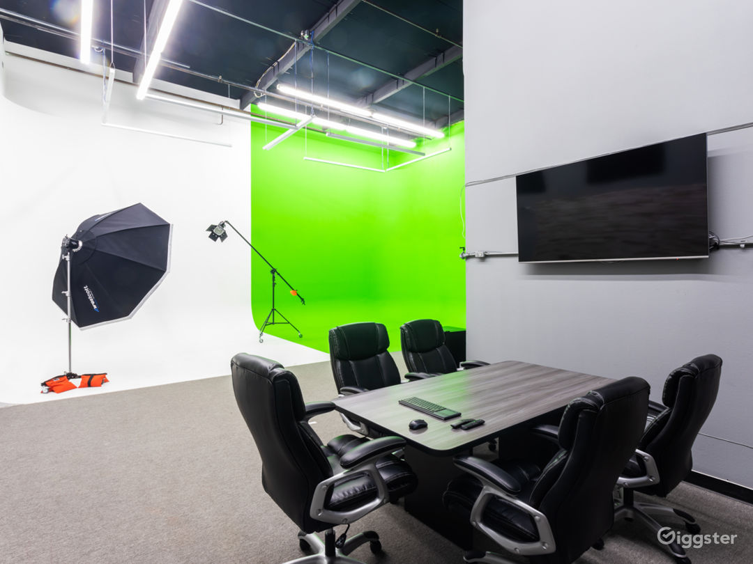 Conference area in the studio