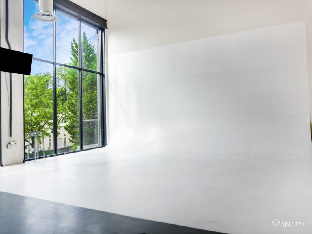 26' x 15' white cyc wall