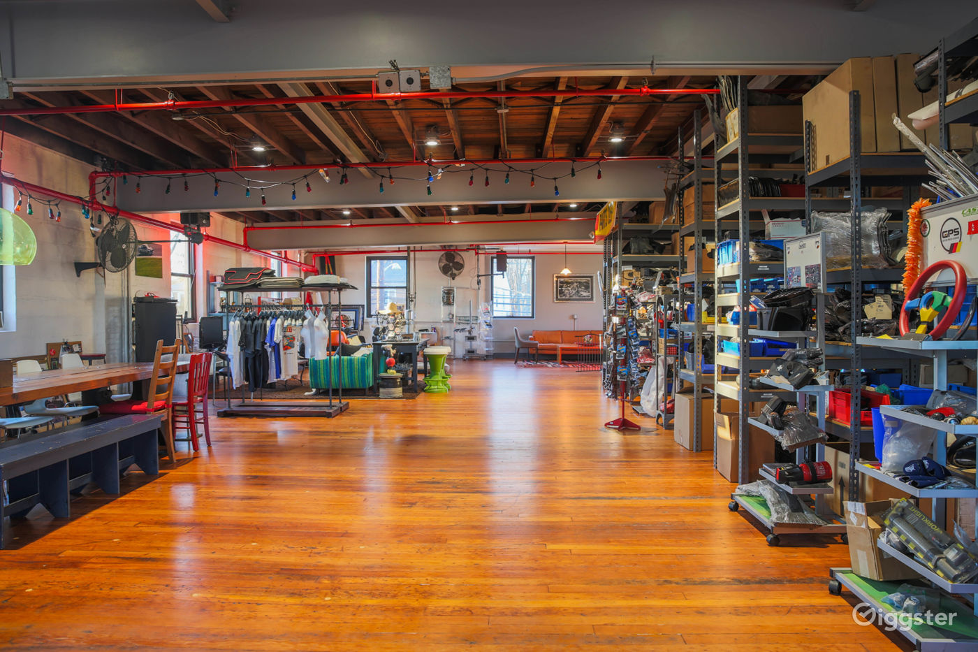 Unique Warehouse with 80s European Cars in Maplewood New York Rental