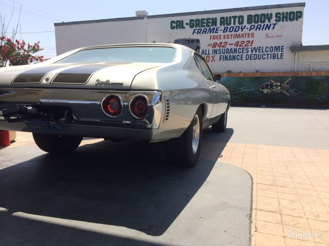1972 Chevelle SS Photo 2