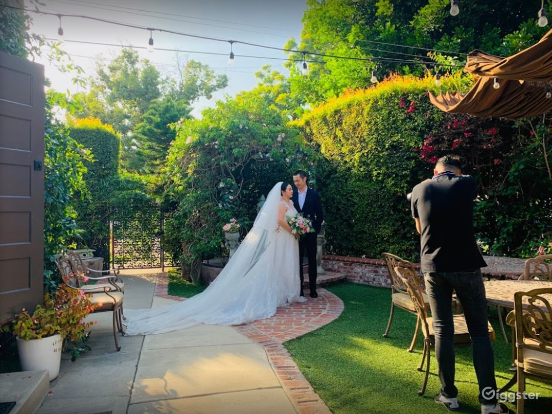 Charming Garden Venue in Orange CA Photo 1