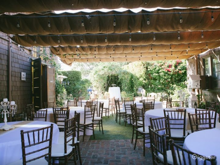 Charming Garden Venue in Orange CA Photo 3