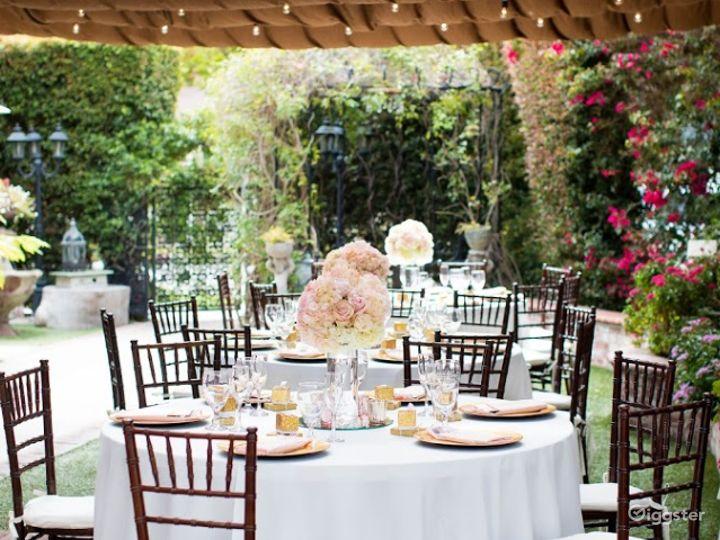 Charming Garden Venue in Orange CA Photo 2