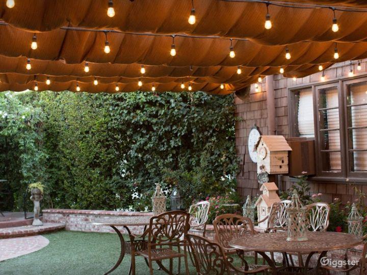 Charming Garden Venue in Orange CA Photo 4