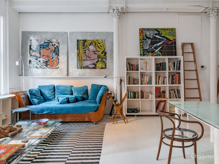 4,200 sq/ft lavish artist loft in Tribeca  Photo 4