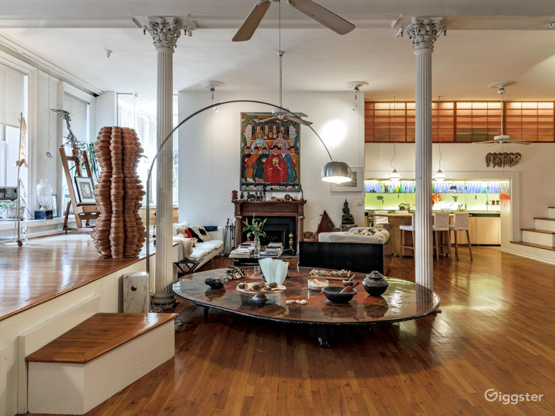 4,200 sq/ft lavish artist loft in Tribeca  Photo 5