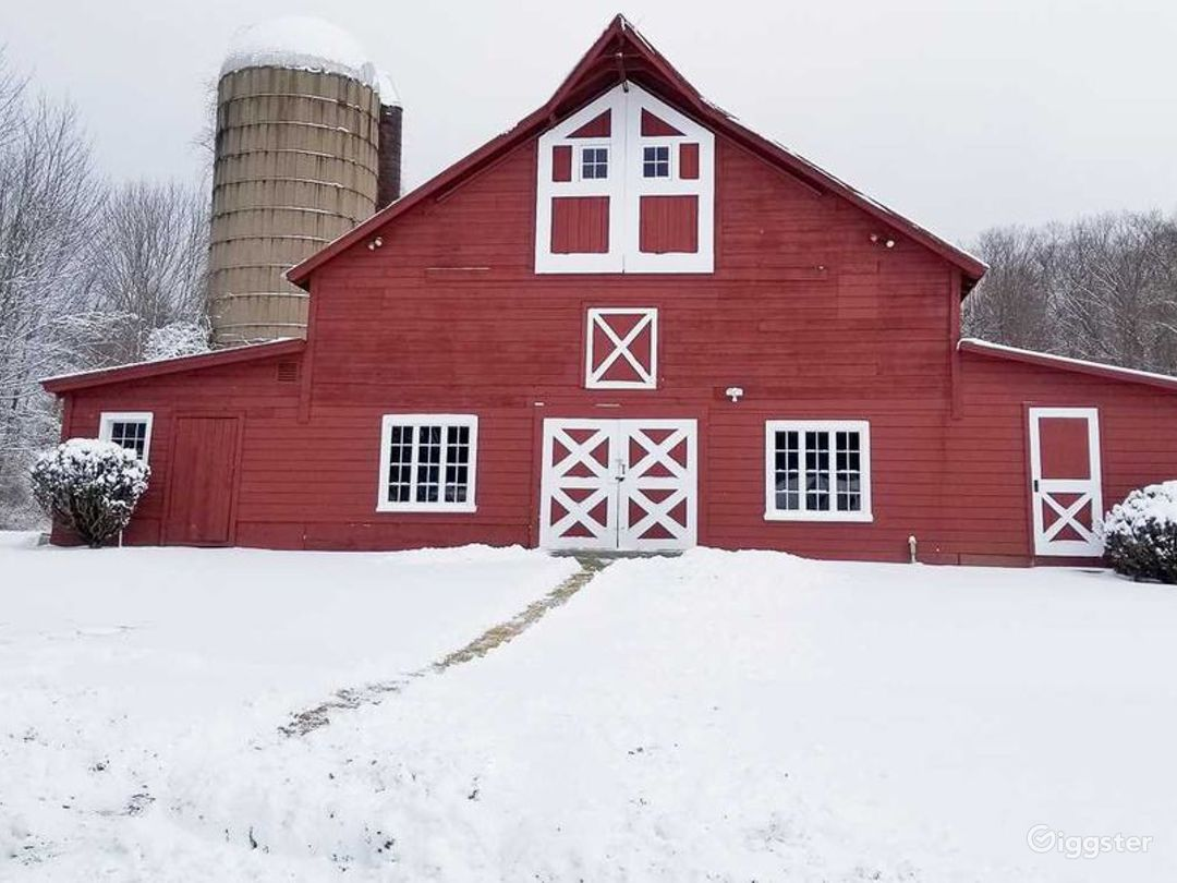 a slice of Dutchess County agrarian history- winter view